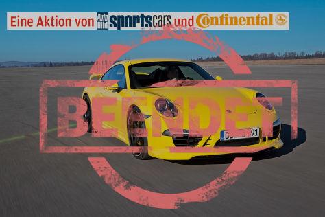 Partneraktion: Porsche-Gipfel auf dem Conti-Tuning-Tag