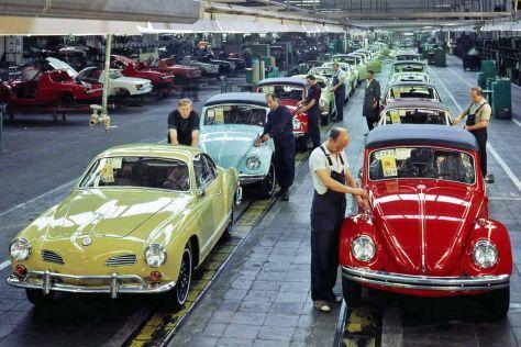 Luftgefühlte Volkswagen-Modelle