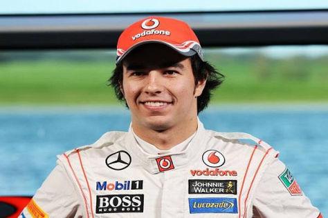 Sergio Perez tauscht die Sauber-Kluft gegen das McLaren-Outfit