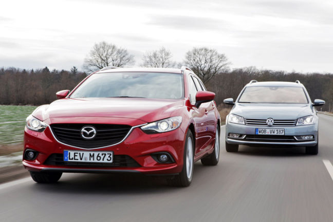 Video: Mazda6 vs. VW Passat