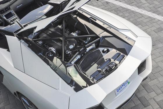 So fährt der offene Aventador