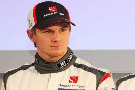 Nico Hülkenberg fordert bei Sauber keinen Nummer-eins-Status