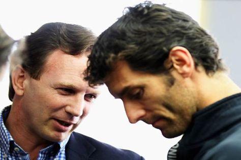 Christian Horner ist bemüht, Mark Webber wieder aufzumuntern