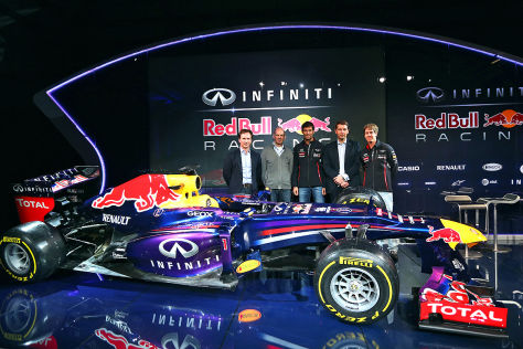 formel 1 2013 red bull pr sentiert den rb9. Black Bedroom Furniture Sets. Home Design Ideas