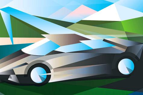 Plakat Genfer Autosalon 2013