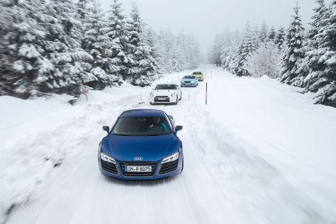 Bentley/Nissan/Audi/Porsche: Vergleich