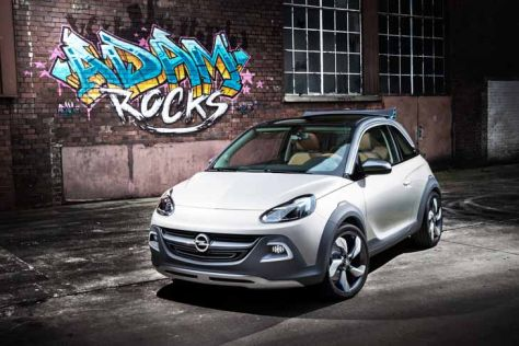 Opel Adam Rocks Concept: Genf 2013
