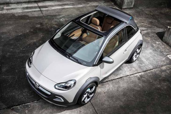 opel adam rocks concept genf 2013. Black Bedroom Furniture Sets. Home Design Ideas
