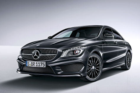 mercedes cla edition 1. Black Bedroom Furniture Sets. Home Design Ideas
