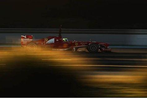 Alle rätseln, wie viel die heutige Bestzeit von Felipe Massa im Ferrari wert ist