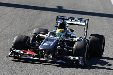 Esteban Gutierrez konnte beim Test in Jerez eine Menge lernen