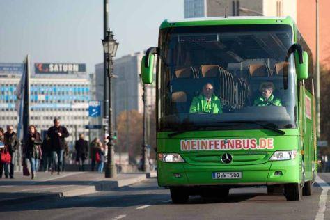 Fernbusmarkt: Erste Linien starten