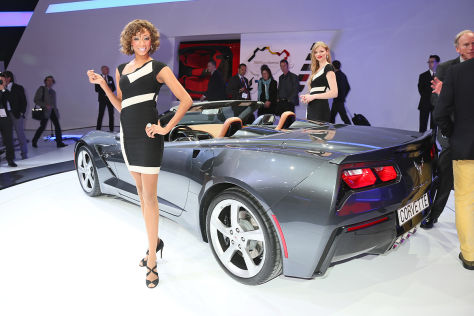 Corvette C7 Cabrio: Autosalon Genf 2013