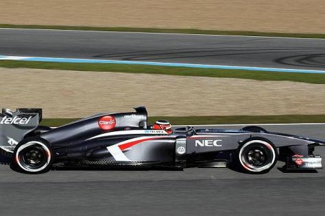 Nico Hülkenberg und Sauber hinterließen in Jerez einen glänzenden Eindruck