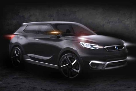 SsangYong SIV-1 Studie: Autosalon Genf 2013