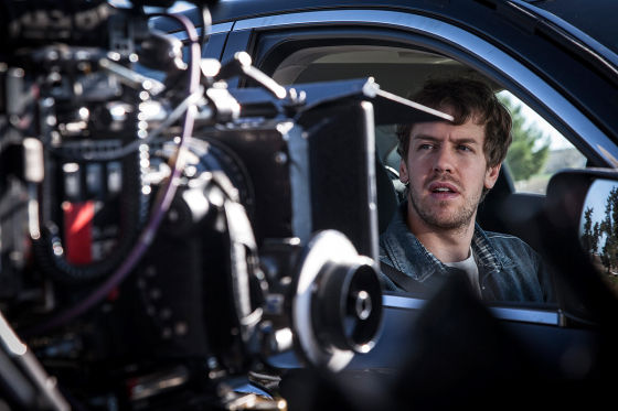 Vettel Werbespot Making-of
