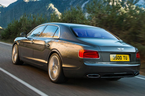 Bentley Flying Spur (2013): Genf 2013