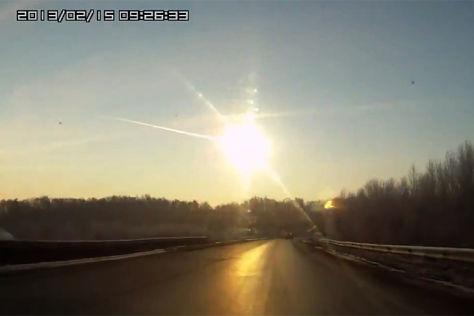 Meteoritenregen im Ural