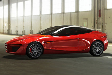 Alfa Romeo Gloria Concept: Autosalon Genf 2013