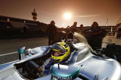 Wann geht für das Mercedes-Team endlich die Formel-1-Sonne auf?