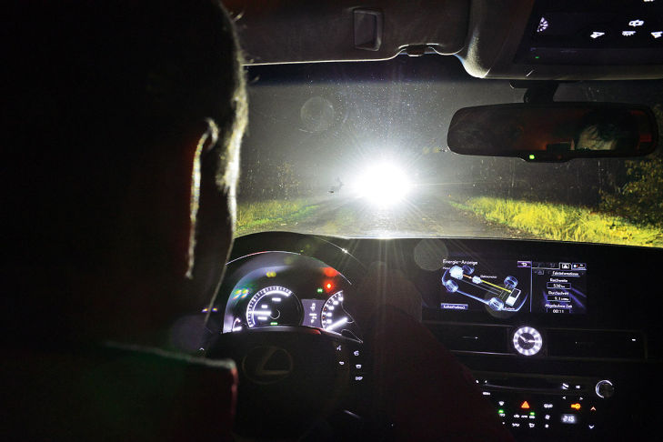 AUTO BILD-Licht-Test