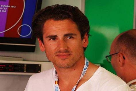 Bald nicht mehr in Zivilkleidung in der Force-India-Box? Adrian Sutil