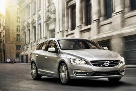 Volvo V60 Facelift: Genf 2013