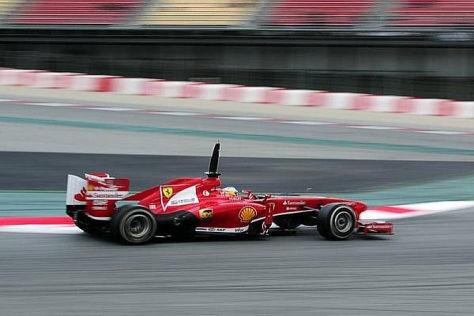 Fernando Alonso erwartet mit dem F138 einen besseren Saisonstart