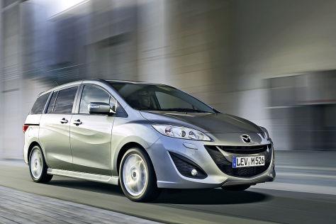 Mazda 5 Modellpflege: Autosalon Genf 2013
