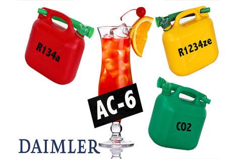 Neues Kältemittel AC-6 (Grafik)
