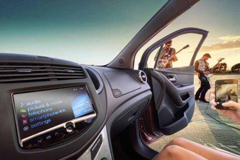 Siri-Sprachsteuerung im Chevrolet