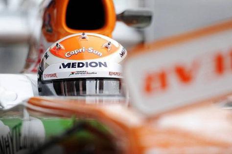 Adrian Sutil darf sich gute Chancen auf ein Comeback in der Formel 1 ausrechnen