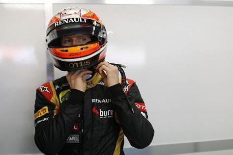 Neuer Helm, neue Herangehensweise: Romain Grosjean will 2013 effizienter sein