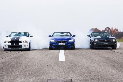 Mustang/M6/Camaro ZL1: Vergleich