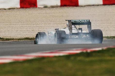 Lewis Hamilton nutzte die Bedingungen gut aus, als sie am besten waren
