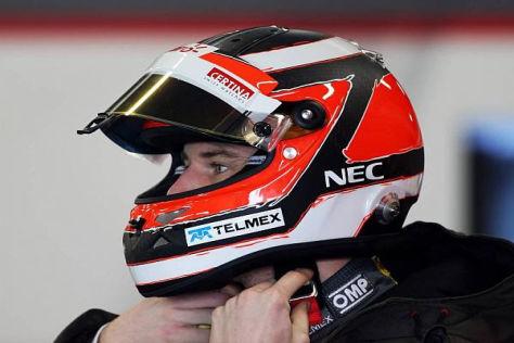 Nico Hülkenberg möchte Sauber als Sprungbrett für ein Topteam benutzen