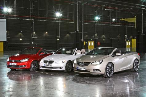 Cabrio Vergleich Opel Cascada Gegen Vw Golf Und Bmw 3er