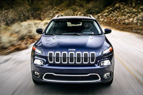 Jeep Cherokee Modelljahr 2014
