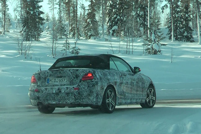 Video: Erlkönig BMW 2er
