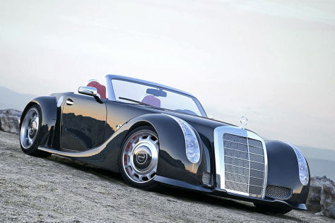 Gullwing 300 SLC: Mercedes W188