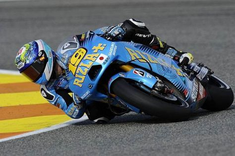 Alvaro Bautista war 2011 der letzte Stammfahrer von Suzuki
