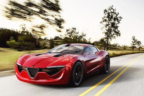 Alfa Romeo 6C Designstudie Alexander Imnadze