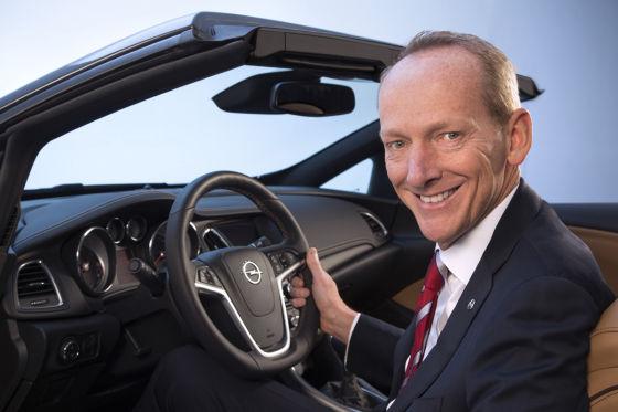 Neuer Opel-Chef Karl-Thomas Neumann