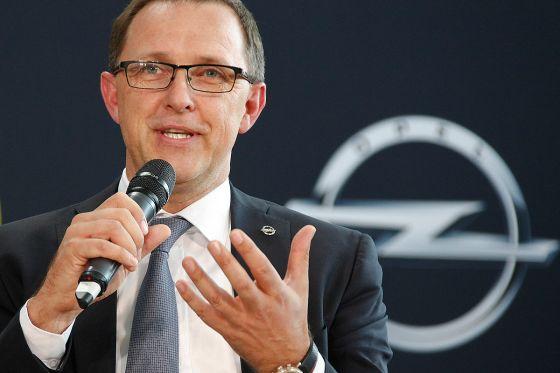 Opel-Strategievorstand Thomas Sedran