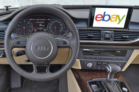 Online-Shopping im Auto