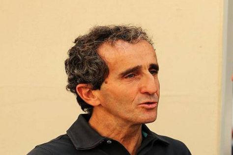 Alain Prost hat die früheren Turbomotoren am eigenen Leib erfahren