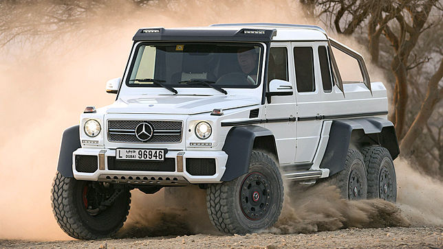 trailer mercedes g 63 amg 6x6. Black Bedroom Furniture Sets. Home Design Ideas