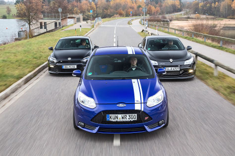 Wolf Focus ST Mathilda Scirocco GT-RSP Elia Mégane RS 300