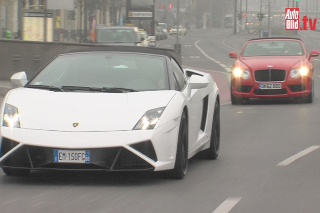 Video: Bentley vs. Lamborghini