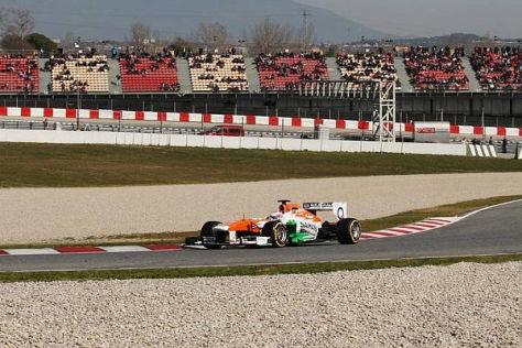 Paul di Resta fuhr am letzten Testtag über 520 Kilometer im Force India VJM06
